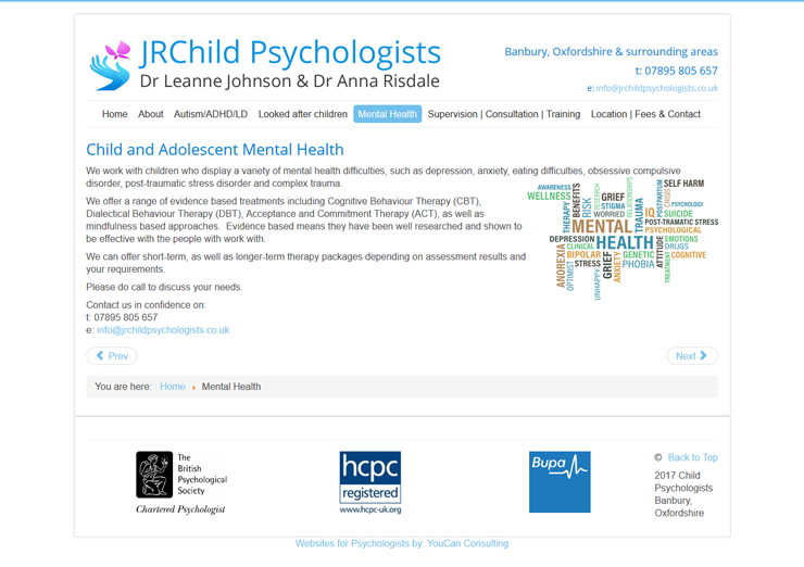 Child Psychologists